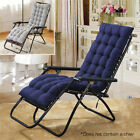 Chair Cushion Tufted Deck Chaise Padding For Outdoor Patio Pool Recliner US
