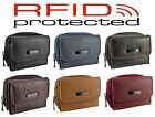 Ladies Small Compact Leather RFID Protected Purse in 6 colours