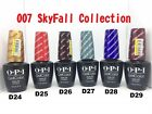 OPI GelColor UV/LED Soak Off Gel JAMES BOND SKYFALL 007 Collection 0.5oz LIMITED $29.2 AUD on eBay