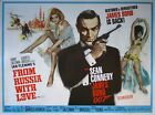 Vintage James Bond From Russia With Love Movie Poster $49.07 CAD on eBay
