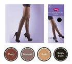 2 PAIRS OF SILKY SUPPORT TIGHTS IN 3 SIZES AND 4 SHADES