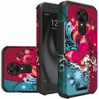 For TMobile Revvl Plus Case Protective Cover  + Tempered Glass Screen Protector
