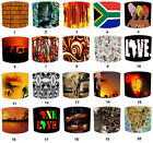 African Tribal Lampshades, Ideal To Match African Ladies Wall Decals & Stickers