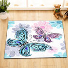 Colorful Butterfly Spring Shower Curtain Bathroom Polyester Waterproof Fabric