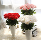 43cm Romantic Rose Silk Flowers Floral Fake Valentines Wedding Decoration Gift