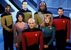 STAR TREK; THE NEXT GENERATION TV Show PHOTO Print POSTER Series Cast 002 on eBay