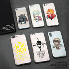 Totoro ONE PIECE Anime Transparent Soft Phone Case Cover For iPhone X 6/7/8 Plus
