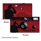 I Spy Undercover Agent Disposable Cameras-PERSONALIZE-anniversary, wedding