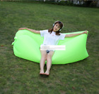 Fast Inflatable Air Sleeping Bag Lazy Sofa Lounge Beach Sofa Bed Camping Outdoor