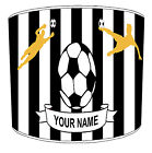 Favourite Football Teams Lampshades, Ideal To Match Football Wallpaper Borders