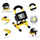 10W 20W 30W Portable Rechargeable LED Flood Light Torch Work Caravan Camping Sal