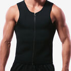 Men Waist Trainer Vest for Weight Loss Sauna Body Shaper Tank Top Tight Workout^