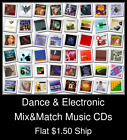Dance & Electronic(1) - Mix&Match Music CDs U Pick *NO CASE DISC ONLY*