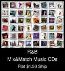 R&B(3) - Mix&Match Music CDs U Pick *NO CASE DISC ONLY*