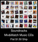 Soundtracks(5) - Mix&Match Music CDs U Pick *NO CASE DISC ONLY*