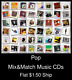 Pop(6) - Mix&Match Music CDs U Pick *NO CASE DISC ONLY*