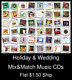 Holiday & Wedding(8) - Mix&Match Music CDs U Pick *NO CASE DISC ONLY*
