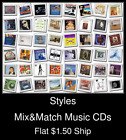 Styles(8) - Mix&Match Music CDs U Pick *NO CASE DISC ONLY*