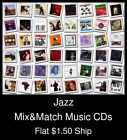 Jazz(9) - Mix&Match Music CDs U Pick *NO CASE DISC ONLY*