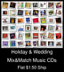 Holiday & Wedding(9) - Mix&Match Music CDs U Pick *NO CASE DISC ONLY*