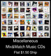 Miscellaneous(12) - Mix&Match Music CDs U Pick *NO CASE DISC ONLY*