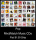 Pop(13) - Mix&Match Music CDs U Pick *NO CASE DISC ONLY*