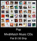 Pop(16) - Mix&Match Music CDs U Pick *NO CASE DISC ONLY*