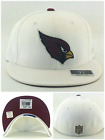 Arizona Cardinals New Reebok Silver Satin Fashion White Red Era Fitted Hat Cap on eBay