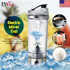 250ML Electric Shaker Vortex Blender Mixer Cup Protein Nutrition Mixer Bottle