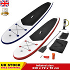 Adults Stand Up Paddle Board Set Kayak SUP Surfboard Inflatable Puncture-proof