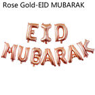 16''slam Happy Eid Mubarak Ramadan Foil Balloon Gold Silver Balloons Party Decor