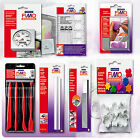 FIMO TOOLS ACCESSORIES FOR SOFT, EFFECT, SCULPEY PREMO CLAYS, DECO GEL VARNISH image