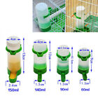 Bird Feeder/Waterer Automatic Seed Water Feeder Cage For Parakeet Parrot S M L
