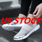 Sneakers Womens Casual Breathable Tennis Slip on Athletic Sh
