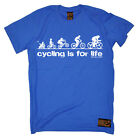 Cycling Cycling Is For Life funny top Birthdayátee T SHIRT T-SHIRT