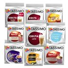 TASSIMO Costa Latte  Coffee 8 servings (Pack of 5Total 80 discs/pods)