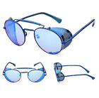 UV400 Vintage Polarized Steampunk Sunglasses Mens Sports Driving Glasses Mirror