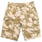 Ladies Camouflage Shorts, Re-Made British Army, Super Soft and Cool Cotton
