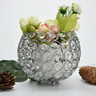 Valentines Day Crystal Tea Light Candle Holders/Candle Shade for Silvery