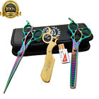 Внешний вид - Salon Hair Cutting Thinning Scissors Barber Shears Hairdressing Accessories Set