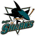 San Jose Sharks Nhl Color Die Cut Vinyl Decal Sticker - New Choose Size Cornhole