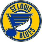 "St Louis Blues NHL Color Die Cut Vinyl Decal Sticker - New Choose Size 2""-28"" $4.95 USD on eBay"