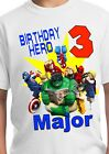 Superhero Party Supplies Avengers Birthday Shirt Superhero Decorations