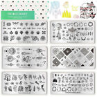 NICOLE DIARY Nail Art Stamping Plates Dreamcatcher Tattoo Stamp Template Tool
