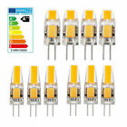 10x G4 COB LED Light 1W 1.6W AC DC 12V LED Replacement Halogen Lamp Warm White