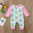 kids easter outfits - US Newborn Easter Bunny Clothes Baby Girl Kids Romper Bodysuit Playsuit Outfits