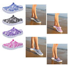 Slippers Women Breathable Slippers Hollow Out Beach Sandals Garden Hole Shoes US