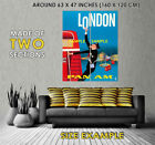 100402 Pan American Air Lines LONDON Collector Travel Decor WALL PRINT POSTER US