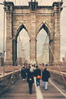 105482 Brooklyn Bridge New York City Vintage Photo Art WALL PRINT POSTER CA