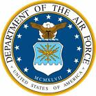 US Air Force USAF Seal Logo Vinyl Decal Sizes window sticker armed military